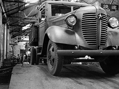 Dowa_Automobile_factory
