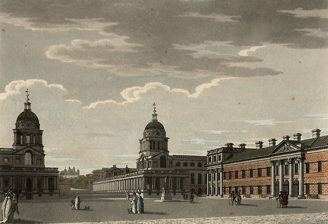 Thomas_Malton_The_Great_Court_of_Greenwich_Hospital,_1799_edited